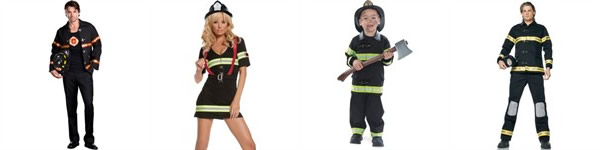 Firefigher Costumes